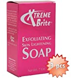 Xtreme Brite Exfoliating Brightening Soap 7 oz (3-pack)