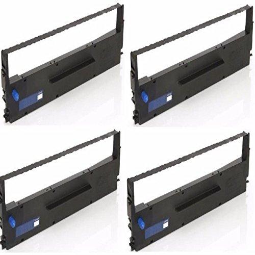 4 Fitas Matricial Para Impressoras Epson Lx 300 Lx 400 Lx 810