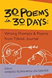 img - for 30 Poems in 30 Days: Writing Prompts & Poems from Tiferet Journal book / textbook / text book