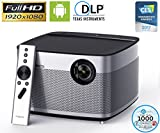 Home Theater Projector, XGIMI H1 Native 1080p HD DLP Projector Android Smart 3D Projector TV with Harman/Kardon Customized Subwoofer Stereo, LiveTV Services