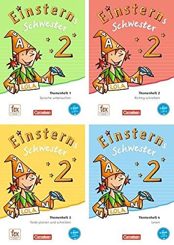 Einsterns Schwester - Sprache und Lesen - Neubearbeitung: 2. Schuljahr - Themenhefte 1-4 und Projektheft mit Schuber: Leihmaterial