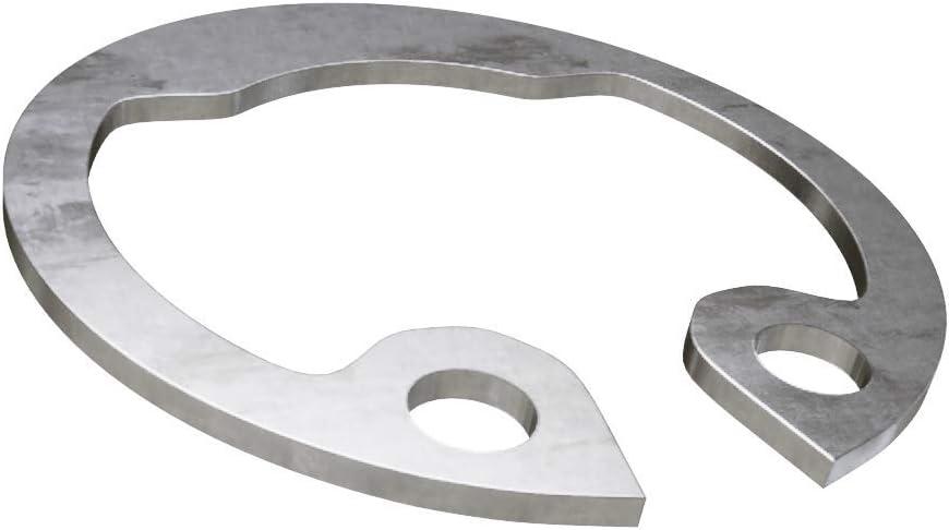 x10 Sicherungsringe Halterringe f/ür Bohrungen Edelstahl A2 DIN 472 36x1.5