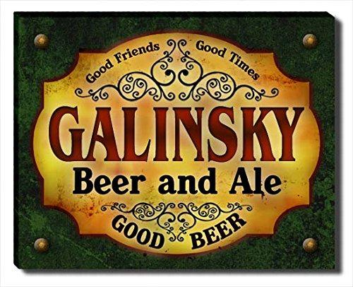 Galinsky Print (Galinsky Beer & Ale Stretched Canvas)