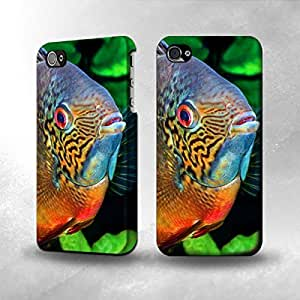Apple iPhone 5 / 5S Case - The Best 3D Full Wrap iPhone Case - Cichlid Fish