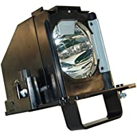AuraBeam Mitsubishi WD-65638 TV Replacement Lamp with Housing