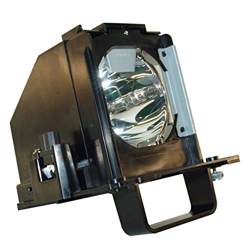 AuraBeam Mitsubishi WD-73738 TV Replacement Lamp with Housing