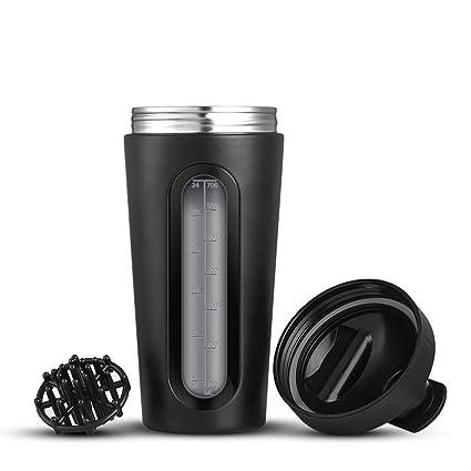 DUDDP Botella de Agua para Deportes Shaker Bottle Proteína ...