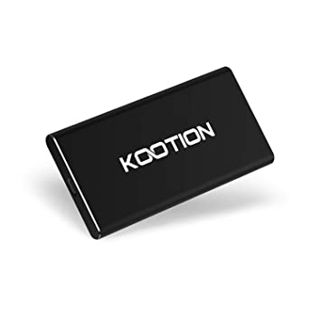 SSD 500GB Externo Portable USB 3.1 Tipo C KOOTION Disco Duro ...