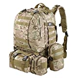 AW CP Camouflage Camping Bag 23x19x5.5 Oxford Nylon Backpack Travel Hike Camp Climb Military Tactical
