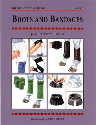 [Boots and Bandages: Threshold Picture Guide No 3 (Threshold Picture Guides)] (Event Horse Boot)