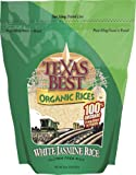 Texas Best Organics Rice, Og, Jasmine White, 32-Ounce (Pack of 3)