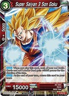 (Dragon Ball Super TCG - Super Saiyan 3 Son Goku (Foil Version) - P-003 - PR -)