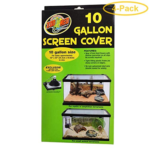 Zoo Med Animal Habitat 10 Gallon Screen Cover 20