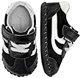 Baby : pediped Originals Cliff Black White (Infant) Baby Shoe