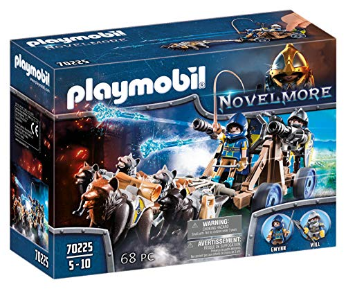 PLAYMOBIL® Novelmore Wolf Team with Canon Playset