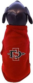 product image for All Star Dogs NCAA San Diego State Aztecs Sleeveless Polar Fleece Dog Sweatshirt