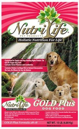 American Distribution Co 00107 Chick Lamb Dog Food, 15-Pound