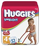 Huggies Baby Diapers, Snug & Dry, Size 4 (22 - 37 lbs), 29 ct Image