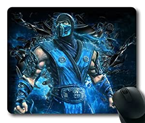 Sub-Zero Mortal Kombat Game Mouse Pad/Mouse Mat Rectangle by ieasycenter