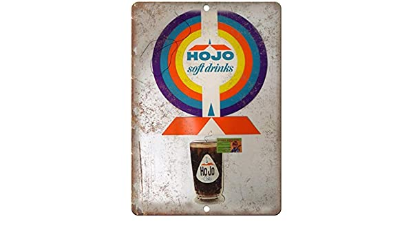 Howard Johnsons HOJO Soft Drinks Póster De Pared Metal ...