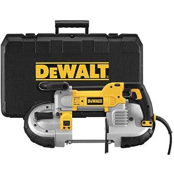 Image of DEWALT Portable Band Saw, Deep Cut, 10 Amp, 5-Inch (DWM120K) Home Improvements