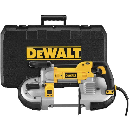 DEWALT DWM120K 10 Amp 5-Inch Deep Cut Portable Band Saw Kit by DEWALT