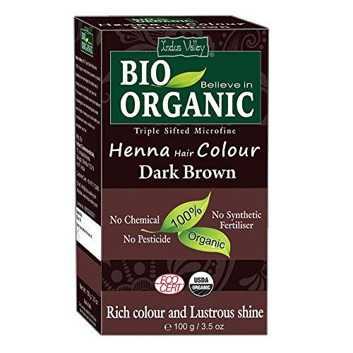 Indus Valley Dark Brown Henna Hair Color