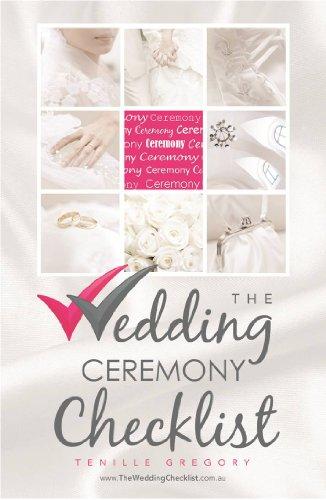 The Wedding Ceremony Checklist (The Wedding Planning Checklist Series Book 3)