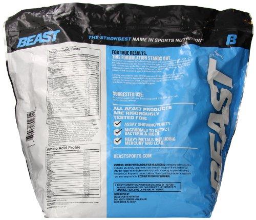 Beast Sports Nutrition, Gargantua Pro Weight Gainer Supplement, Vanilla, 10 Pound