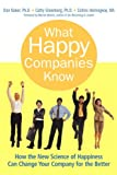 What Happy Companies Know, Dan Baker and Cathy Greenberg, 0137011687
