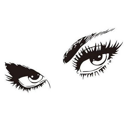 XCWQ Pulsera Mujer Decoración del Hogar Ojos Silueta Tatuajes De ...