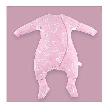 Saco de dormir Xiuyun bebés Otoño e Invierno niños Anti-Patada niños Grandes (Color : B, Tamaño : 80cm): Amazon.es: Hogar