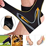 Xroam Ankle Support Brace 2 Pack, Adjustable Ankle