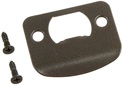 Kwikset Corporation 3796-01 690 STRK RND Full Lip 1/4-Inch  Round Corner Strike in Stainless Steel ()