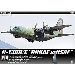 Academy Models 12511 C-130H/E 12511 ROKAF & USAF 1/72 Plastic Model Kit