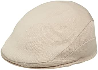 Kangol Men's Tropic 507 Flat Caps, Beige, S