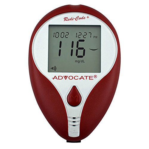 Advocate Redi-Code Plus Speaking BG Meter, Case of 50