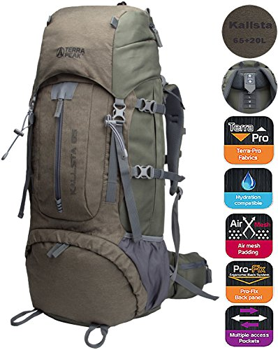 Backpacking Backpack Hiking Backpack Internal Frame Backpack backpacks for  travel 65L+20L with free raincover f4286ab8eb04b