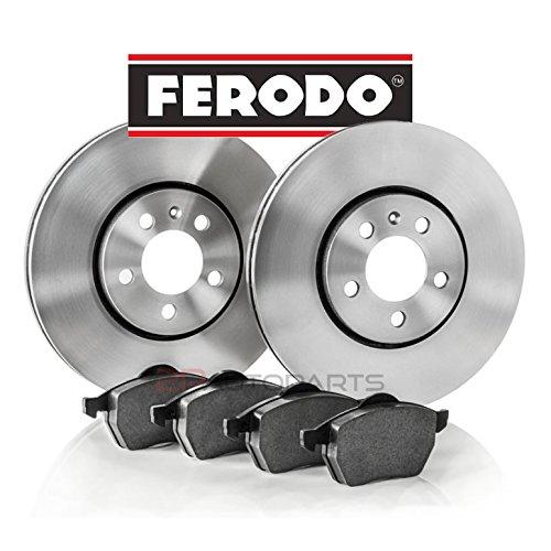 Dischi freno e pastiglie anteriori FERODO DPF22067
