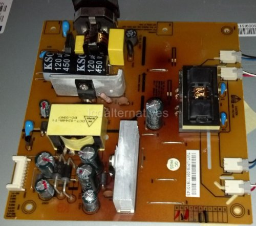 Daewoo L970-ARA LCD Monitor Repair Kit, Capacitors Only, Not the Entire Board