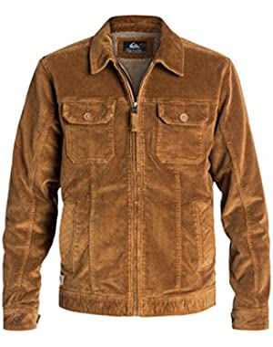 Men's Santa Cruz 2 Corduroy Jacket and HDO Travel Sunscreen (15 SPF) Spray Bundle