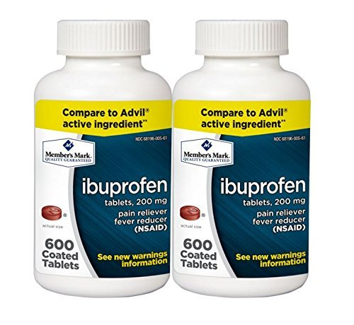 Simply Right Ibuprofen Tablets, 200 mg (600 ct., 2 pk.) by Simply Right
