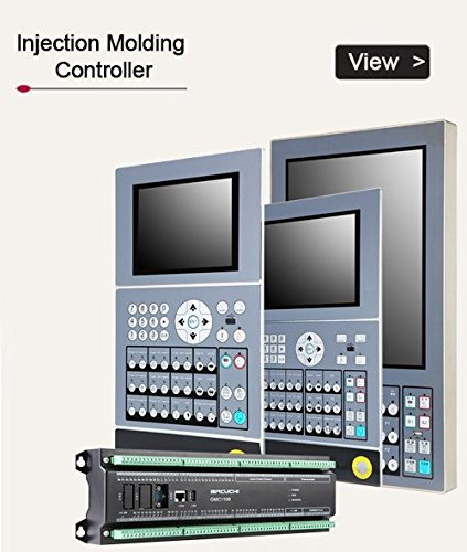 Injection Molding Machine Controller 15 inch HMI, Standard-Grade PLC