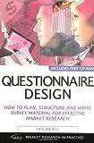 Questionnaire Design, Ian Brace, 074944181X