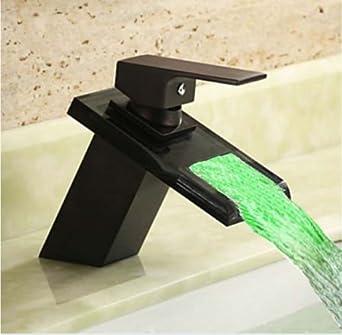 Oil Rubbed Bronze Widespread Waterfall Bathroom Sink Faucet - Famous on bathroom vanities, bathroom tubs, bathroom appliances, bathroom sinks, bathroom remodeling, bathroom mirrors, bathroom tile, bathroom showers, bathroom vanity lights, bathroom cabinets, bathroom design, bathroom paint, bathroom storage, bathroom decorating ideas, bathroom lighting, bathroom candles, bathroom pantry, bathroom paneling, bathroom toilets, bathroom plumbing,