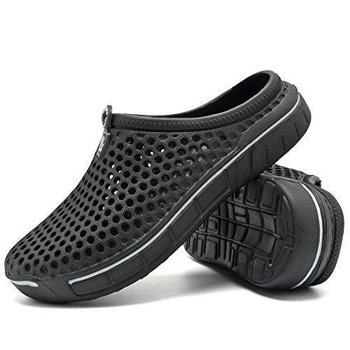 Slip Pantoffeln Darkblue Schuhe Frauen Zu Loch Fuß Wasser Sandalen Anti welltree Sommer Beach 8SZdnS1q