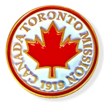 Lapel Pins Toronto - LDS Canada Toronto Mission Commemorative Lapel Pin
