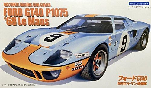 フジミ 1/24 フォードGT40 P1075 1968年ル・マン優勝車 カルトグラフ製デカール