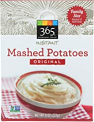 365 Everyday Value, Instant Mashed Potatoes, Original, 8 oz