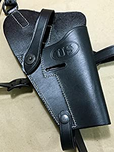 U.S. WWII COLT 45 M7, M-7 Shoulder Holster - Black (Reproduction)